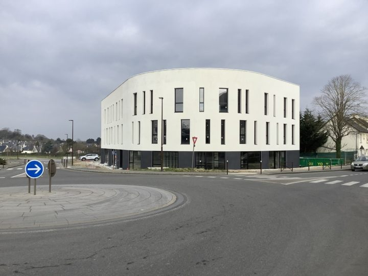 Lamballe (22), les travaux du centre d'affaires du Liffré sont achevés !