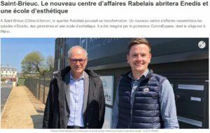 Nouveau centre d'affaires Rabelais abritera Enedis - Commespace